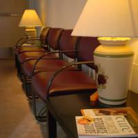 Waiting room seating area