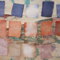Caustic hair dye cotton/linen tests