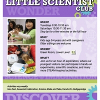 Little Scientist Club sign