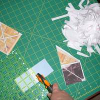 Cutting each quilt shape
