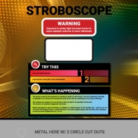 Stroboscope final graphic identity