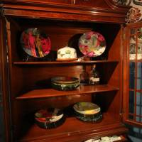 China cabinet survivor plates