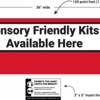 Sensory friendly final design details