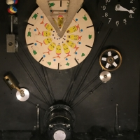 Inside old Stroboscope exhibit